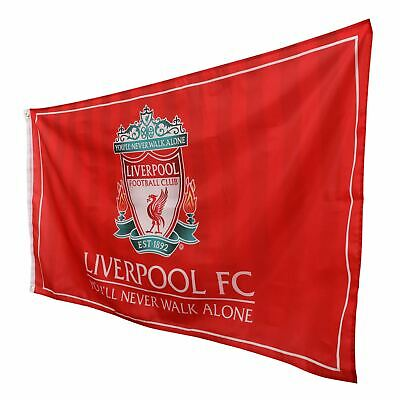 Liverpool FC Crest Flag LFC Official