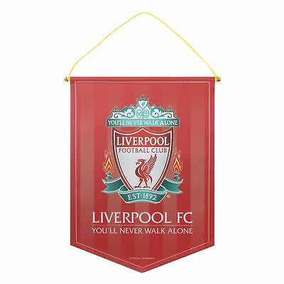 Liverpool FC Large Crest Pennant LFC Official