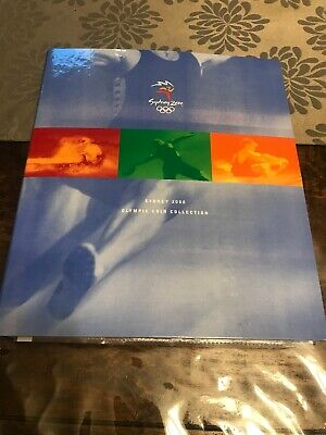 2000 SYDNEY OLYMPIC $5 COIN COLLECTION. Set 28 Coins COMPLETE! CERT & MEDALLION