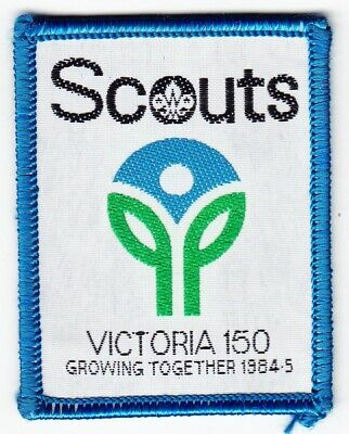 Scout Badge Australia - Victoria 150 Growing Together 1984-5