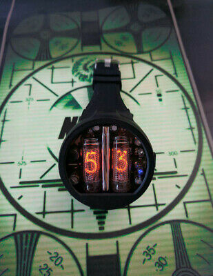 Nixie Tube Watch V5.2 Classic 24HR (NO BACKLIGHT)