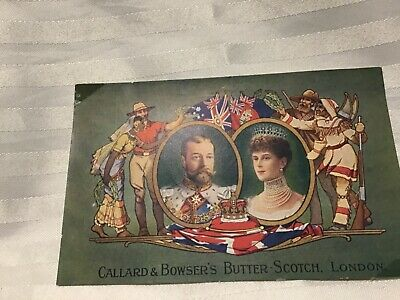 His Majesty King George V And Queen Victoria Postcard