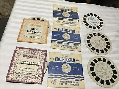Assorted View Master Reels 1950,s