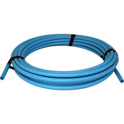Polypipe 25mm x 50m Cold Water Blue MDPE Pipe Commercial & Domestic use