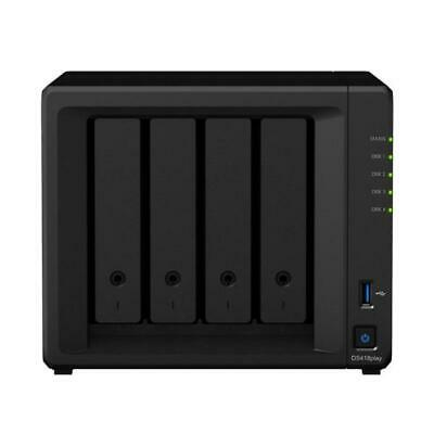 Synology Ds418Play 4 Bay Desktop Nas Enclosure  Ds418Play
