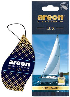 Areon Sport LUX Quality Perfume/Cologne Cardboard Car Air Freshener Ocean Water