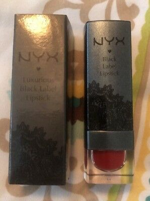 NYX Cosmetics TRIBUTE TO MARILYN Luxurious Black Label Lipstick BLL 163