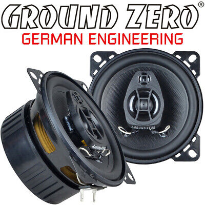 GROUND ZERO Heck Auto Boxen Set für VW T4-1990-1995