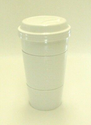 Rare Starbucks Coffee 2012 Stacking To Go Cup Style Snack Measuring Bowls