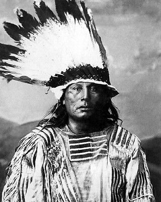 Native American Indian CHIEF GALL Glossy 8x10 Photo Lakota Sioux Print Poster