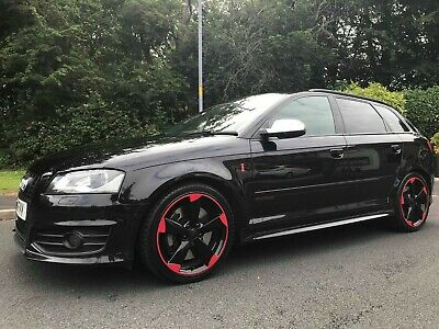 Audi S3 2011 Black Edition Sportback MMI Sat Nav 2.0 Turbo Manual, Blinds, Bose