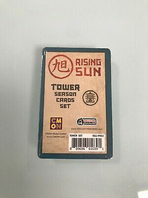 Rising Sun - Tower Season Cards - Dice Tower Promo - New in Wrap