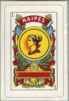 Deck Spanish Playing Cards Naipes Barajas New Box Briscas Superior Quality