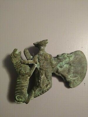 Luristan ax head with animals depicted