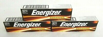 Pack Of 72 Energizer Industrial AA Alkaline Battery EN91 Exp: 12-2026