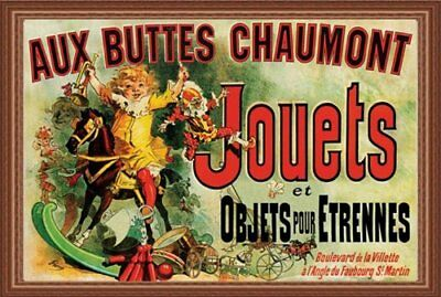 Jouets as Seen on Friends Framed Vintage Advertisement 24x36