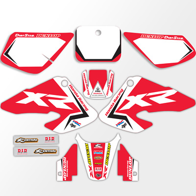 171025 HONDA XR 250 2003-2005 DECALS STICKERS GRAPHICS KIT