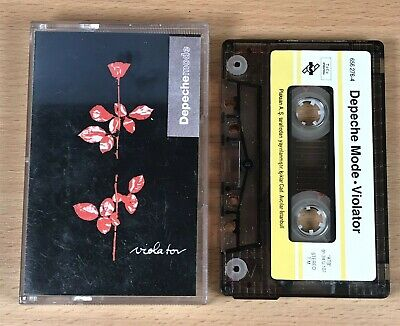 Depeche Mode - Violator Cassette Tape VERY RARE Turkish Edition