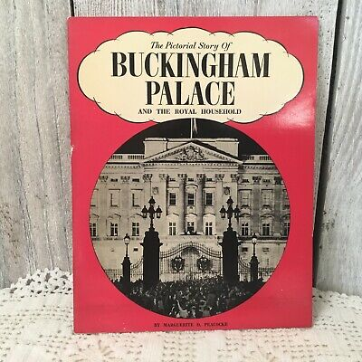 1950s THE PICTORIAL STORY OF BUCKINGHAM PALACE SOUVENIR TOURIST BOOKLET ROYALS