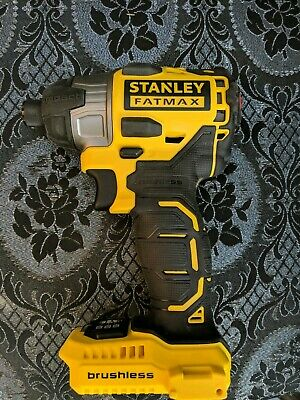 Stanley Fatmax Brushless Impact Driver Kfmcf647 18V Bare Unit Body Only