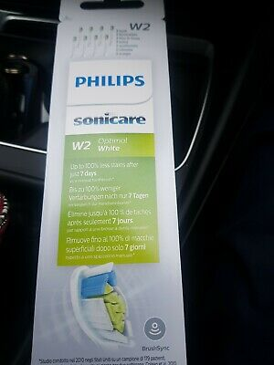 Philips Sonicare Optimal White Replacement Toothbrush Heads, W2, 8 pack HX6068
