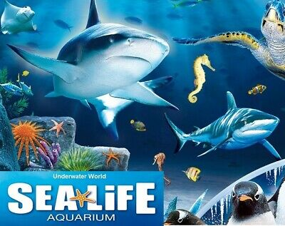 2 Sea Life Tickets - 9 Sun Savers Codes for You To Claim 2 Free Tickets