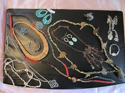 junk drawer antique &rare jewelry vintage to current pendants necklaces earrings