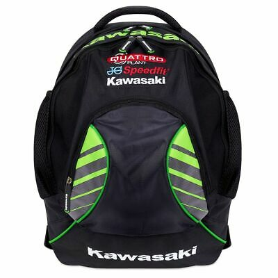 Quattro Kawasaki team backpack Rucksack