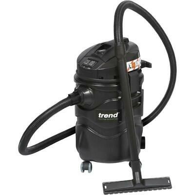 Vacuum Extractor 1400W L Class 230V Wet 35L And Dry 22L Dust Filter Industrial