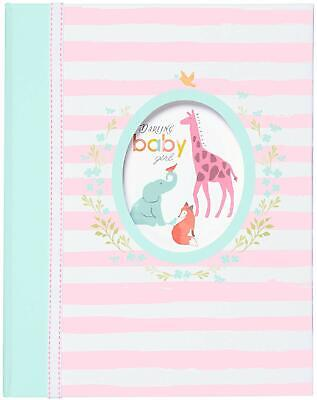 《NEW》Carter''s  C.R. Gibson Baby Memory Book - Darling Baby Girl