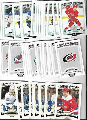 2019-20 OPC SP High Series 501-600 Team Checklists Rookies Leaders & Highlights