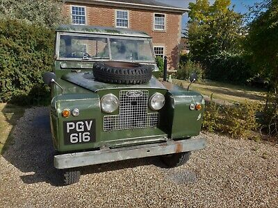 """1960 Land Rover Series 2 88"""""""