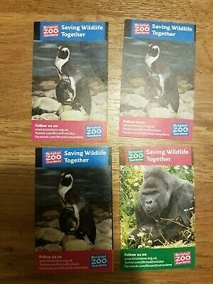 Bristol Zoo tickets - 2 adults and 2 children. Valid until 16 Oct 2019