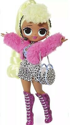 1 Authentic LOL Surprise OMG LADY DIVA Fashion Doll Sister Holiday Winter Disco