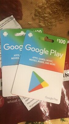 ONE (1) Google Play 100 USD Gift Card