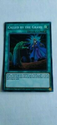 Yugioh Called By The Grave Super Near Mint Limited Edition Exfo-Ense2
