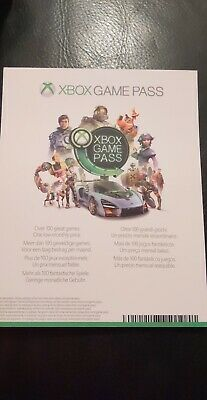 Xbox One 1 Month Game Pass Trial Subscription (Fast Dispatch)