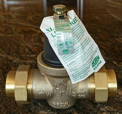 """Zurn-Wilkins NR3XLDU 1"""" Pressure Reducing Valve, NEW and PRICED TO SELL!"""