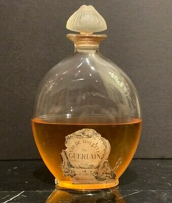 Authentic Guerlain Shalimar 8.4 OZ Perfume Bottle 50% Full
