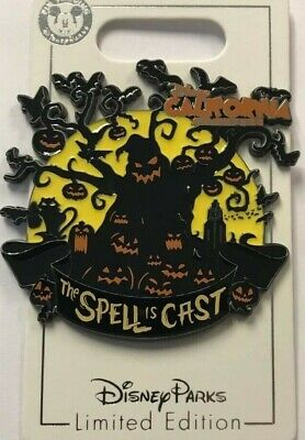 DISNEY Disneyland Oogie Boogie Bash Spell is Cast Pin HALLOWEEN 2019 LE 3000