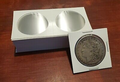 COIN FLIPS LARGE DOLLAR COIN HOLDERS 100 TOTAL ARCHIVAL QUALITY 2 x 2