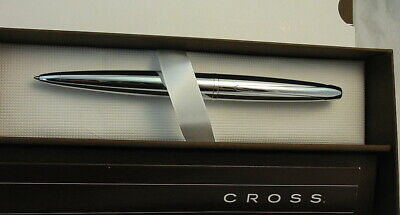 HOLIDAY SALE! Cross Executive ATX Pure Chrome Ball Point Pen 882-2 NEW