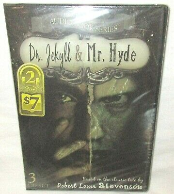 Dr.Jekyll & Mr. Hyde by Robert Louis Stevenson 3 CD Audio Book Set New Sealed