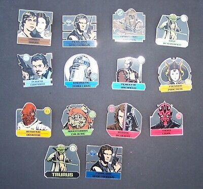 Star Wars Zodiac Pins. Chaser Pins Only. Each pin a Limited Edition of 500.