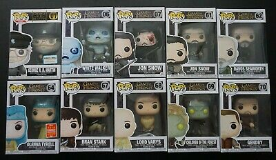 Funko Pop Game of Thrones Lot Of 10