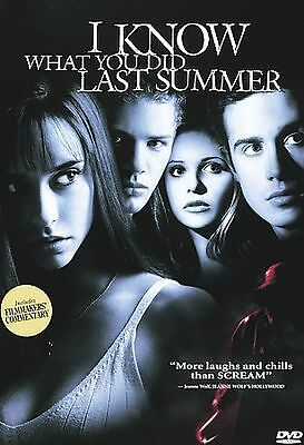 I Know What You Did Last Summer DVD, J. Don Ferguson, Stuart Greer, Muse Watson,
