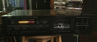 JVC KD-VR320J  Stereo Cassette Deck, Made In Japan MIJ. Looks & Sounds Great