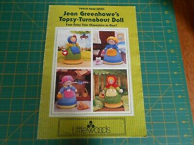 Jean Greenhowe's Topsy-Turnabout Doll Pattern Book - Good Condition -