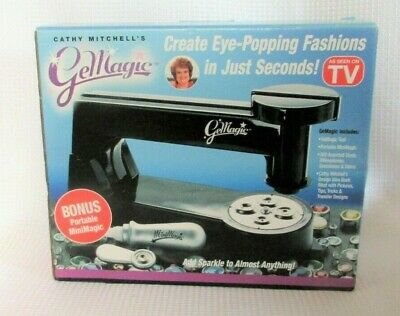 GeMagic by Cathy Mitchell. Design Your Own Clothes! Bedazzler! Includes mini!