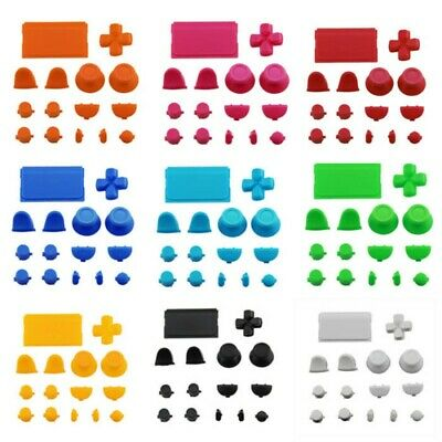 15 PCS Plastic Solid Thumbstick Buttons for PS-4 Pro Slim Remote Controller Kit